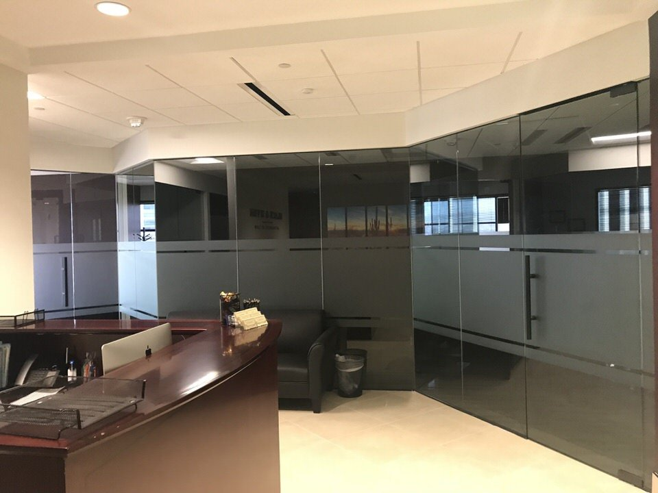 Commercial Decorative Window Tinting Phoenix AZ